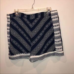 Xhilaration Chevron Printed Flowy Shorts